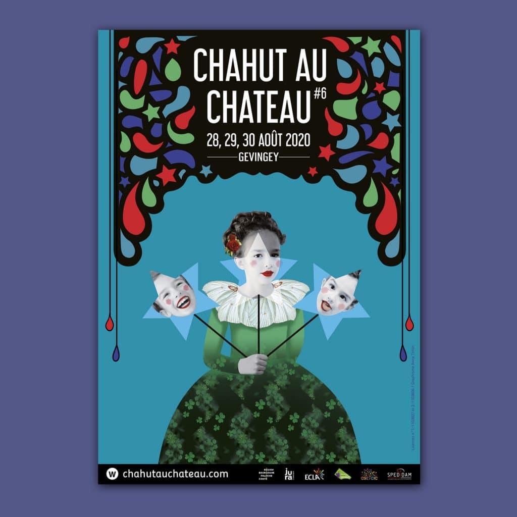 Affiche du Chahut au château 2020