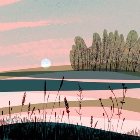 illustration aube