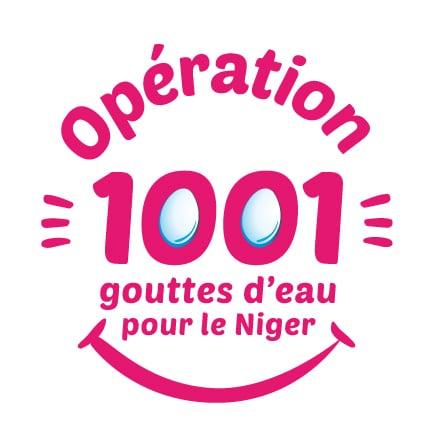 Logo opération 1001 gouttes d'eau