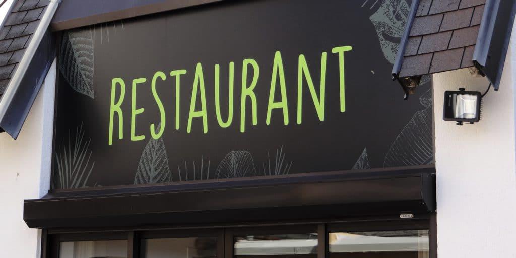 Le Manguier restaurant enseigne 3