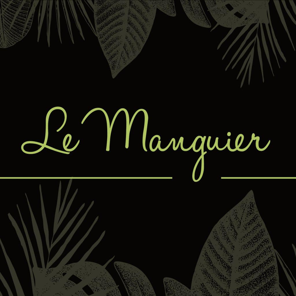 Le Manguier restaurant enseigne