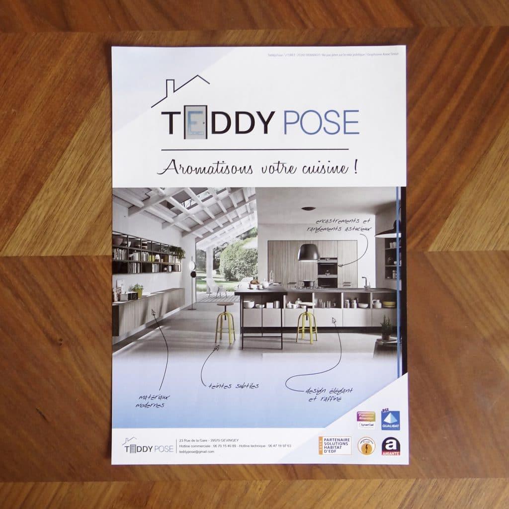 flyer cuisine Teddy Pose
