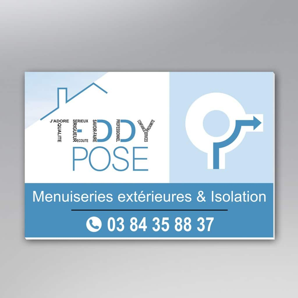 panneau rond point Teddy Pose